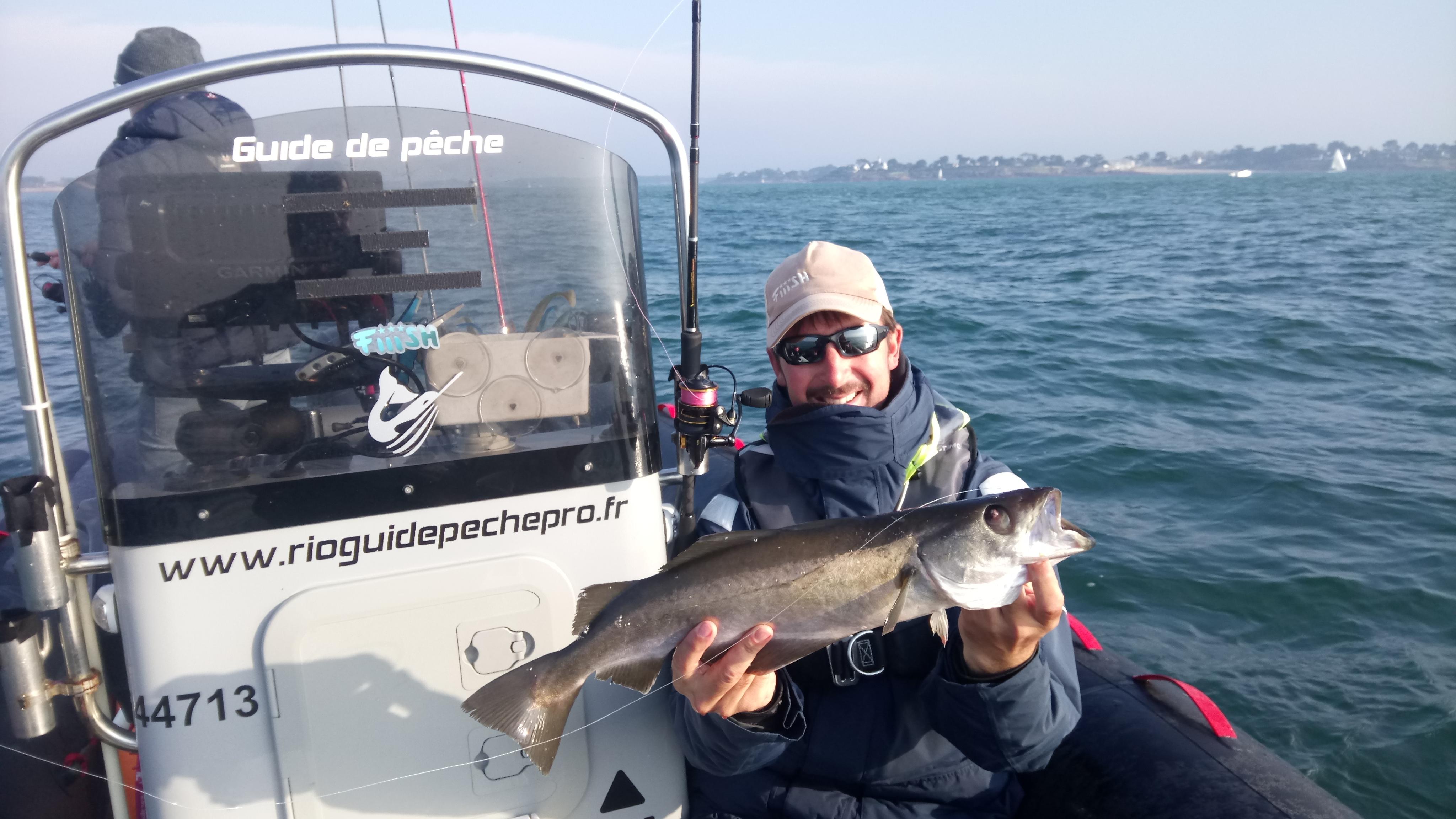 Guide de pêche Morbihan-Guide de pêche Sarzeau- Guide de pêche Golfe du Morbihan-Sortie pêche en mer- pêche au bar Morbihan- Stage de pêche au leurre