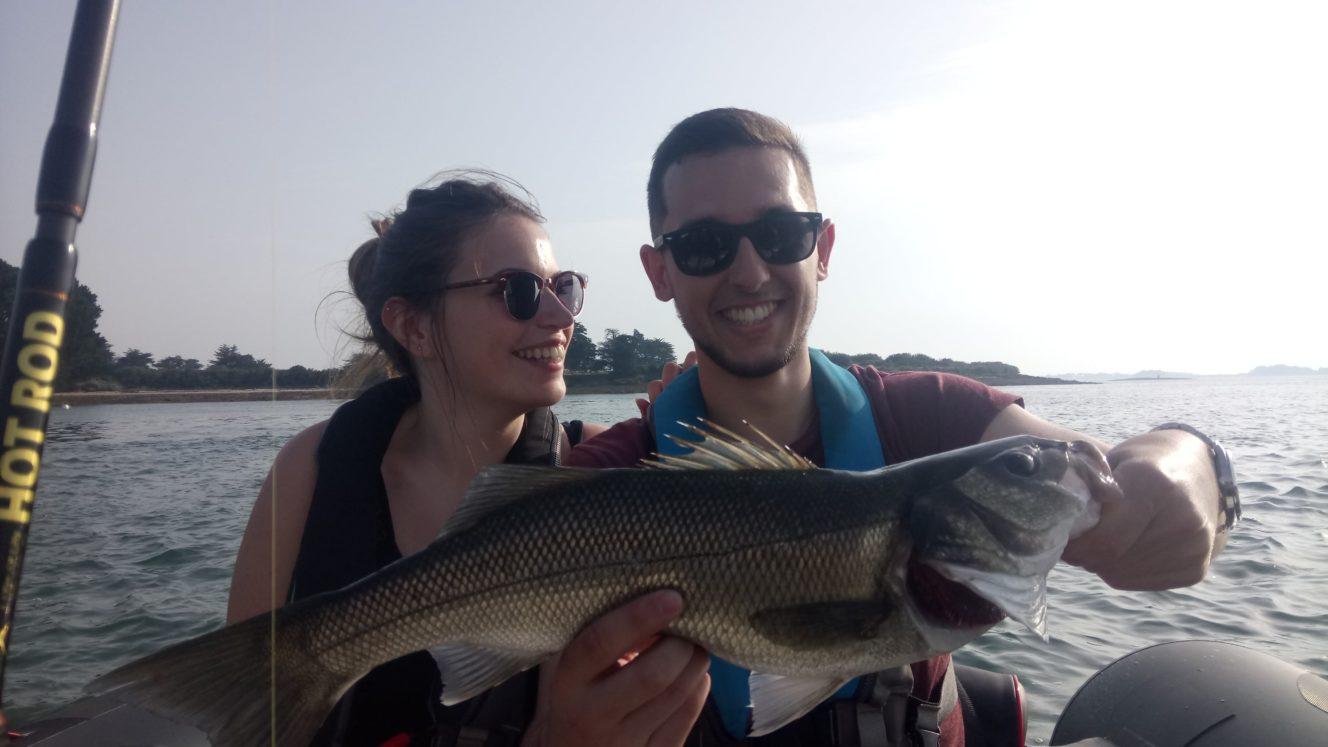 Pêche Morbihan - sortie pêche Vannes - Sarzeau - Arzon - Saint Gildas de Rhuys